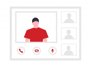 Zoom, Skype, GoToMeeting, FaceTime or Google Meet paragon data solutions